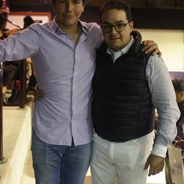 Jerónimo Mills y Jorge Goñi