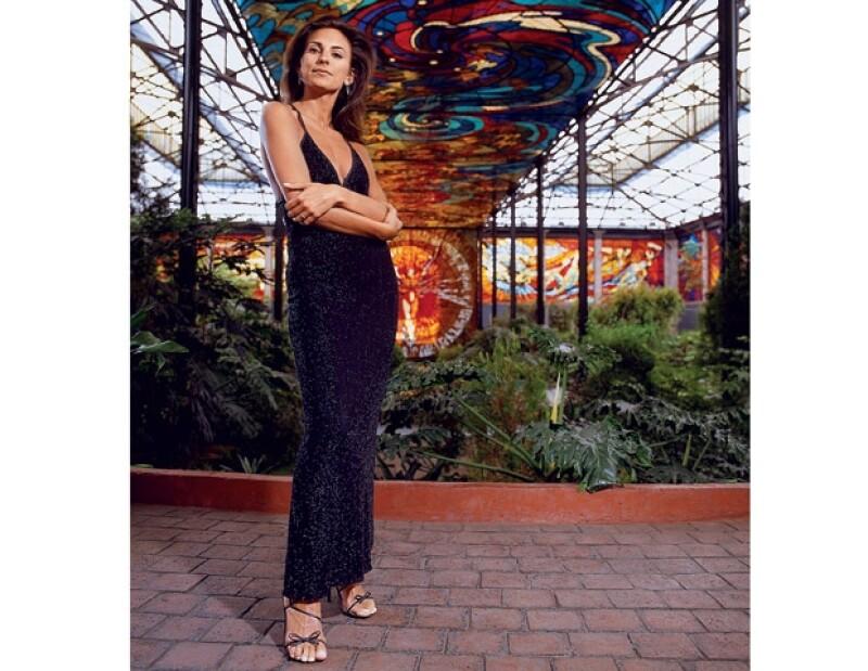 Maude Versini fue una de las `Mejor Vestidas´ de la revista Quién en 2003.