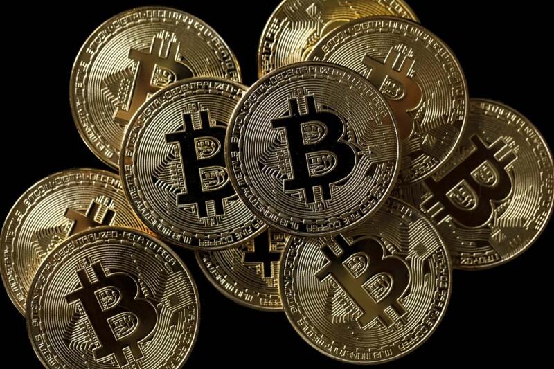 Una plataforma pagada por bitcoin.