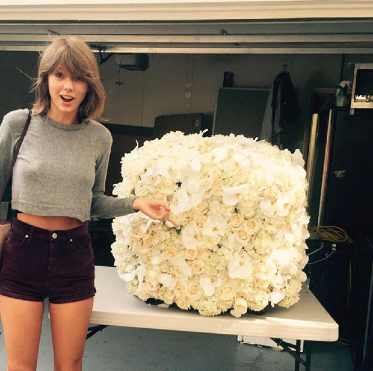 #KanTay: Kanye West sorprende a Taylor Swift con especial regalo