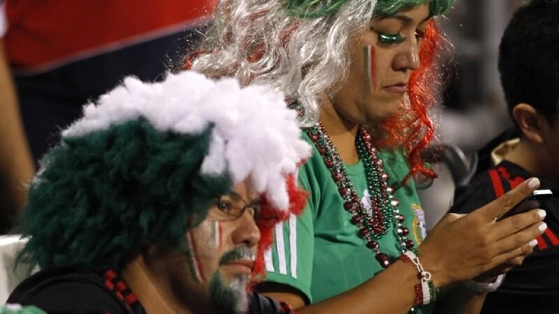 aficionados a la seleccion mexicana