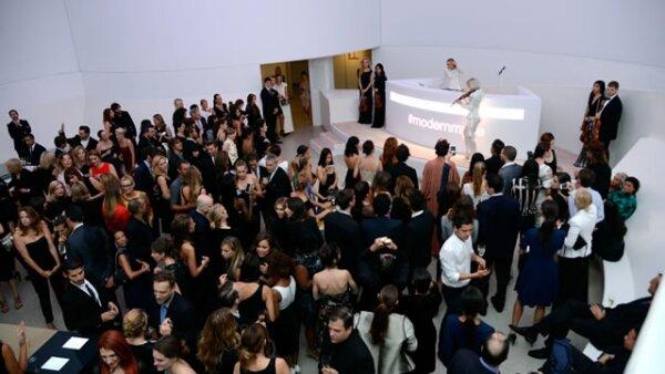 El evento se llevó a cabo en el Museo Guggenheim de Nueva York.