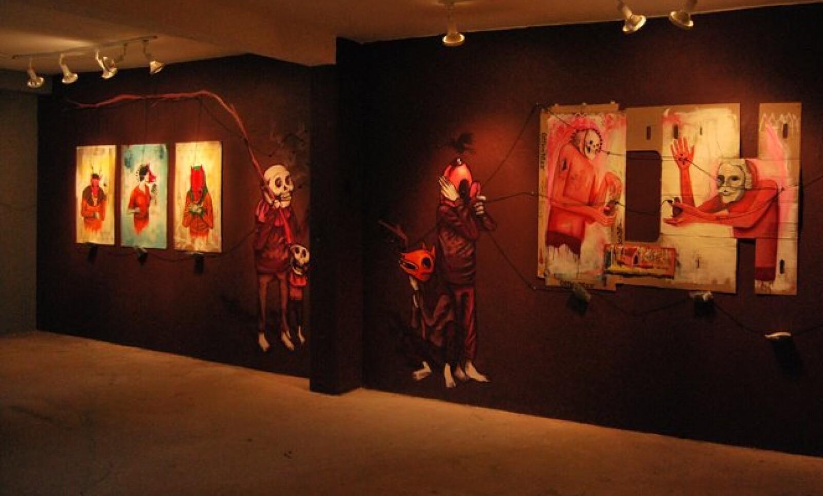 Enfocado en el graffiti y arte multimedia, fomenta el arte contemporáneo alternativo e independiente.