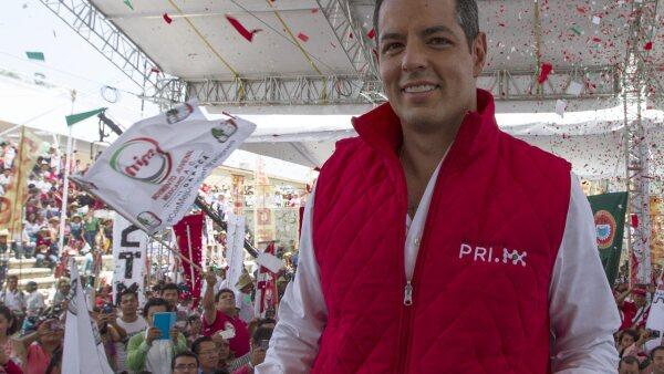 El exdirector del Infonavit es uno de los múltiples candidatos que iniciaron sus actividades rumbo a los comicios del 5 de junio.