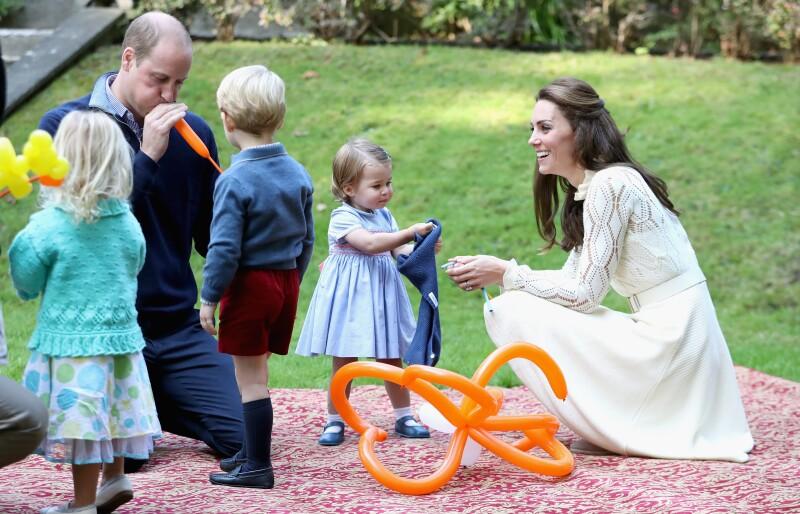 Kate Middleton revela cómo es el tiempo de calidad de sus hijos