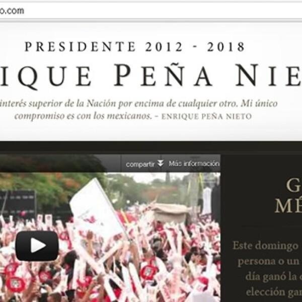 sitio web pagina