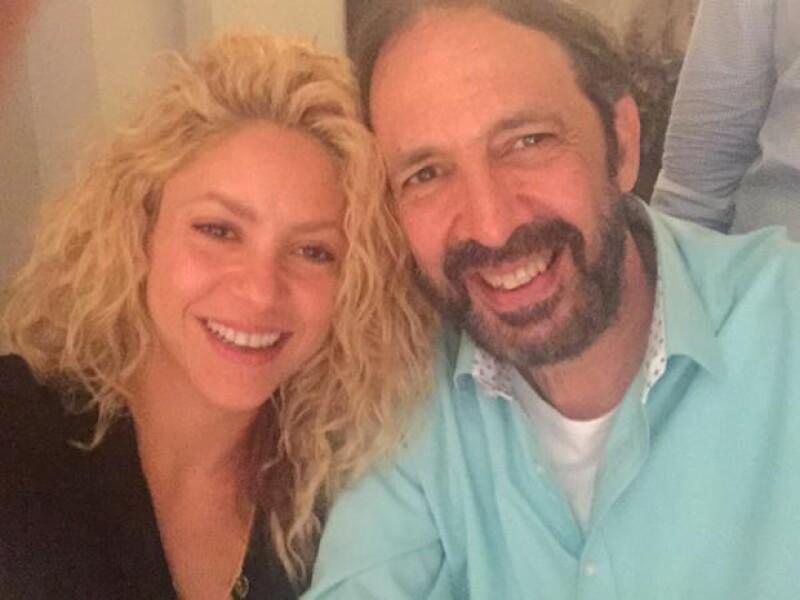 Fue la propia colombiana quien compartiera una foto en su Twitter, luego del pequeño incidente que ocurrió en su casa.