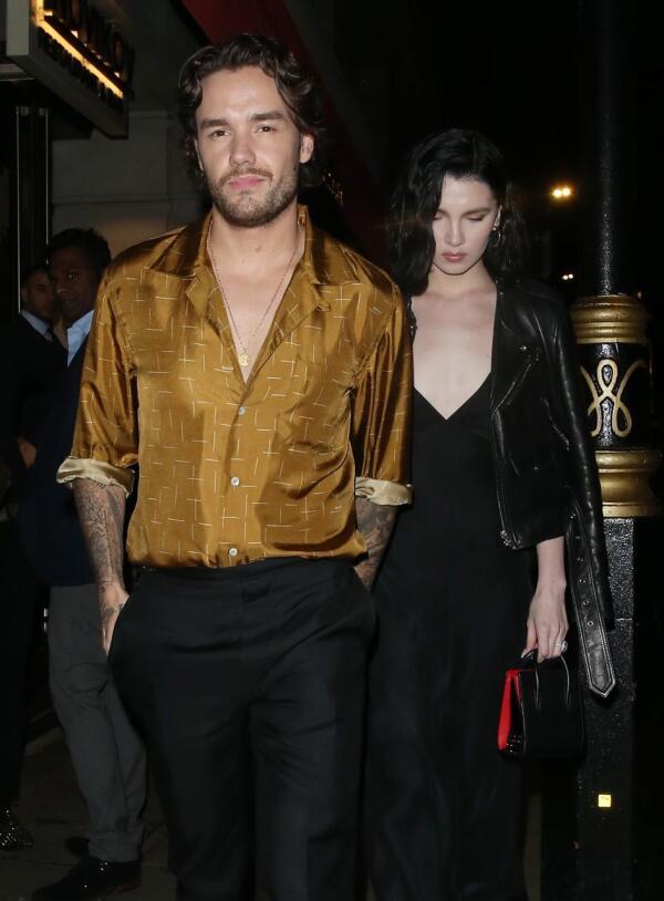 Liam Payne y Maya Henry.