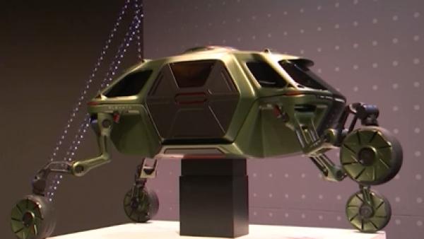 Hyundai crea automóvil-robot todoterreno para emergencias