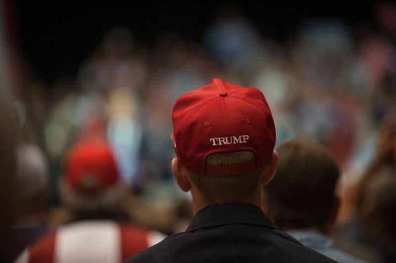 El apoyo a Trump