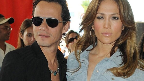 Jennifer Lopez y Marc Anthony.