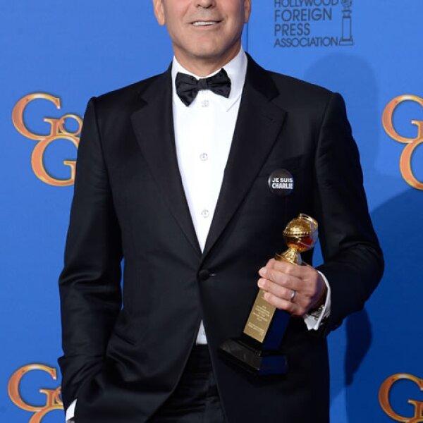 El premio Cecil B. DeMille a la Trayectoria fue para George Clooney.