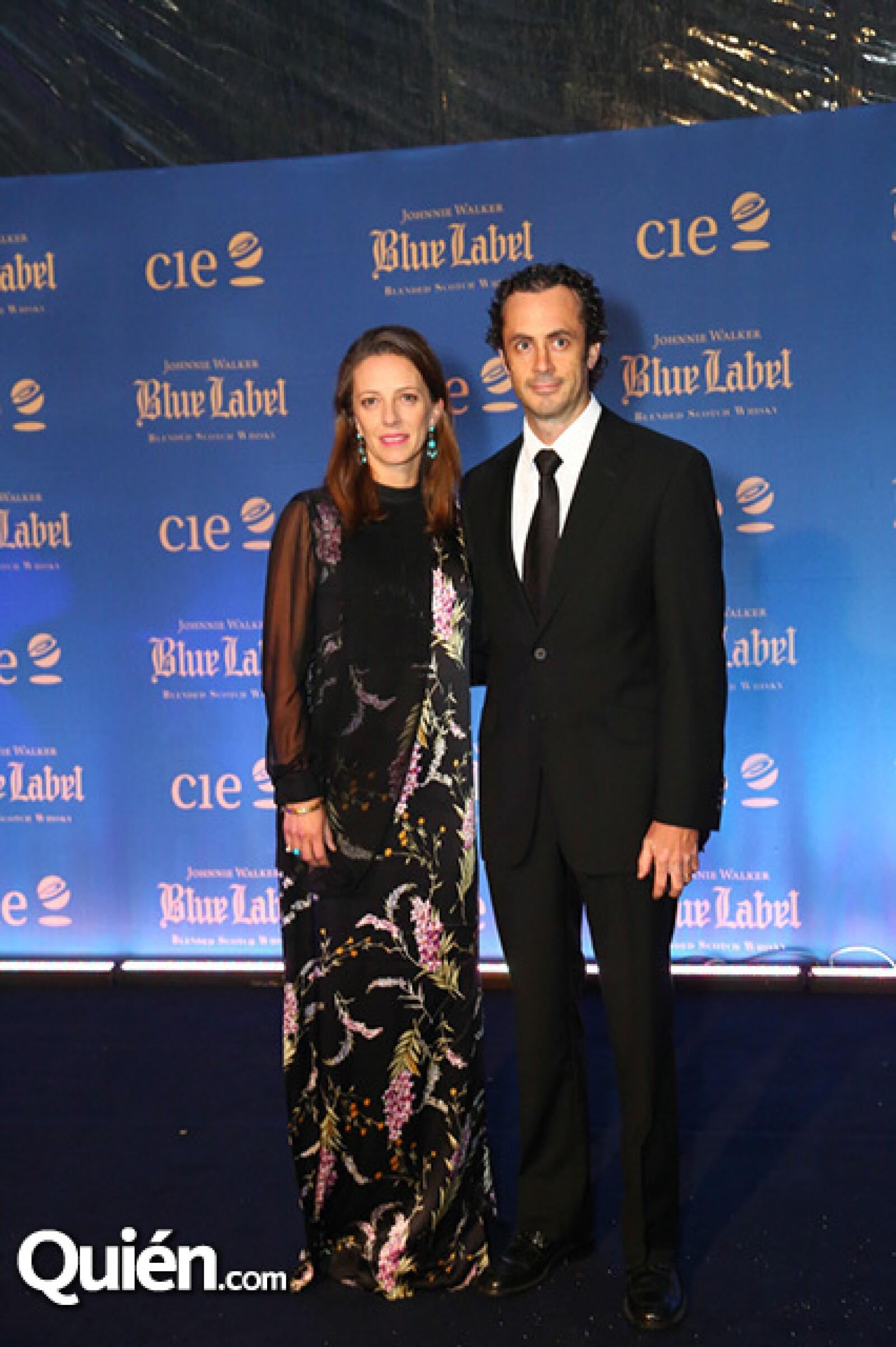 Concha Orvañanos y Michel Jourdain