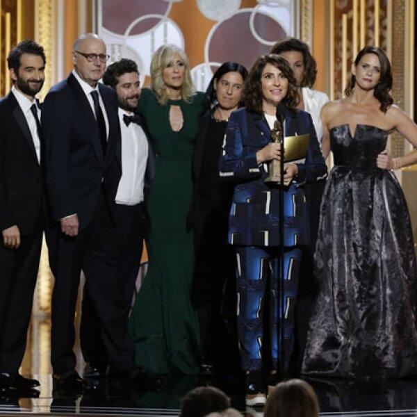 El premio para Mejor comedia de televisión fue para Transparent.