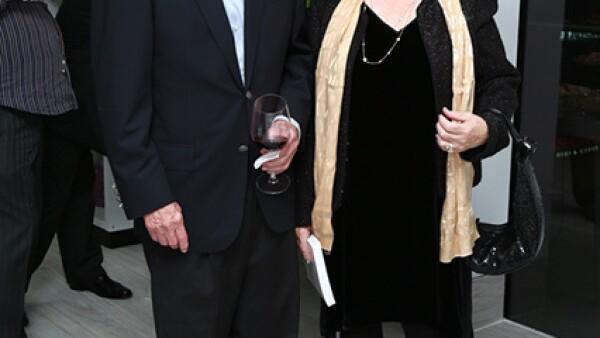 Octaviano Longoria y Josefina Rodríguez de Longoria