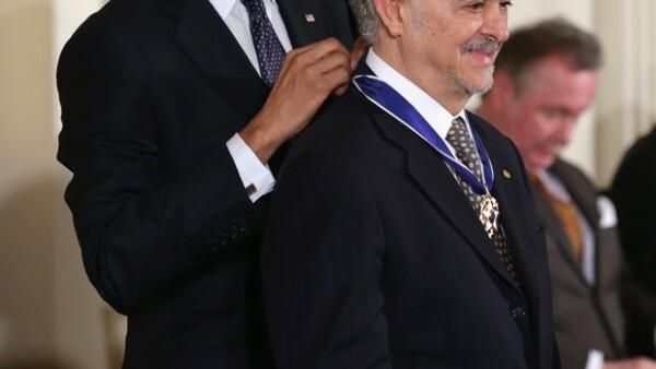 El mexicano Premio Nobel de Química, nombrado uno de los personajes Quién 50, fue reconocido con la Medalla de la Libertad, la más alta distinción que concede el gobierno estadounidense.