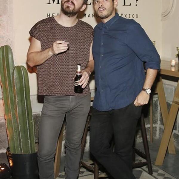 Mauricio Cadena y Sergio Molina