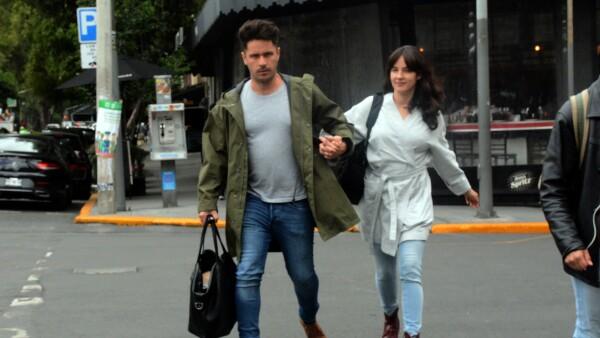 Ximena Sariñana y Rodrigo Rodríguez