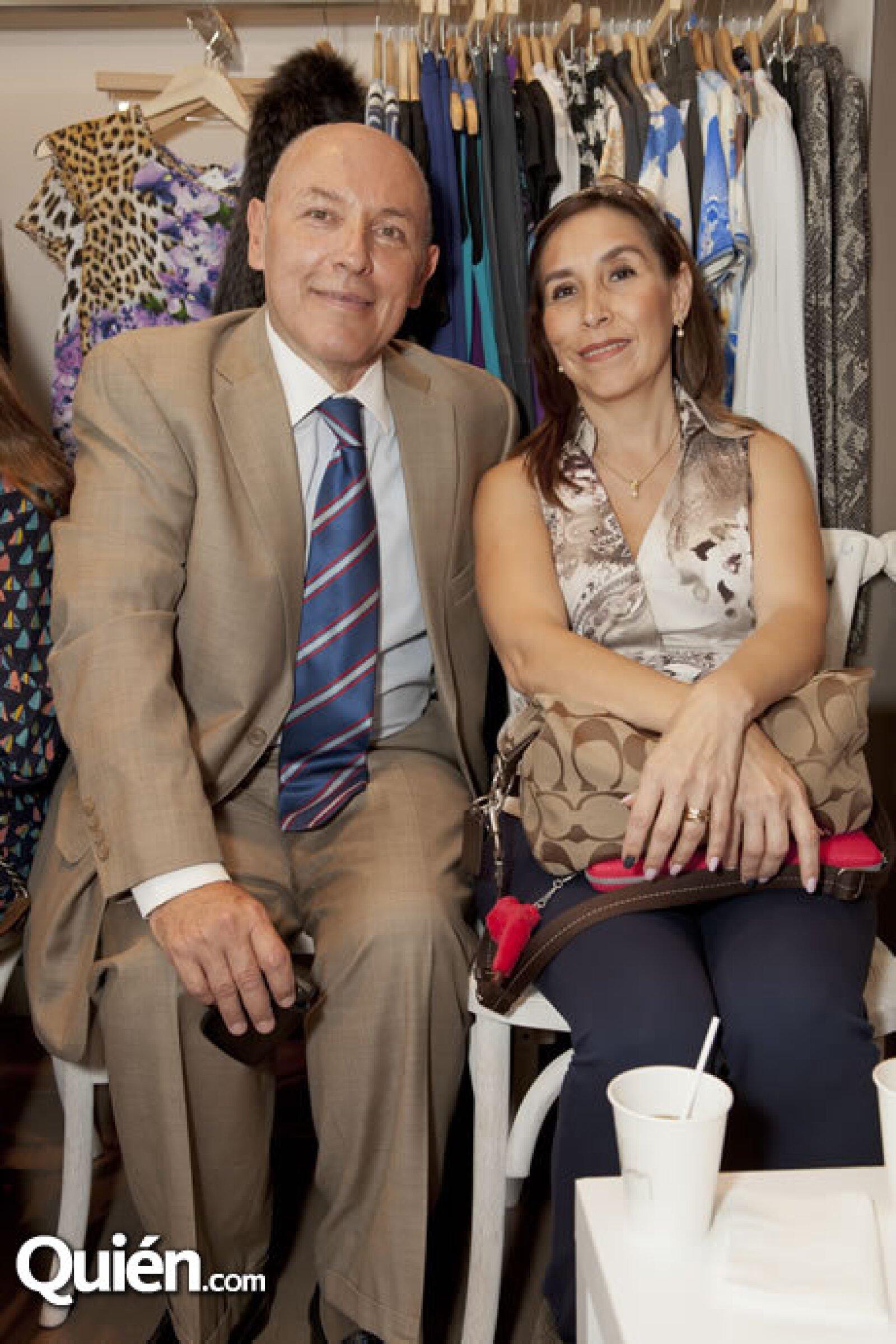 Jorge Rivas y Xalixia Larrea