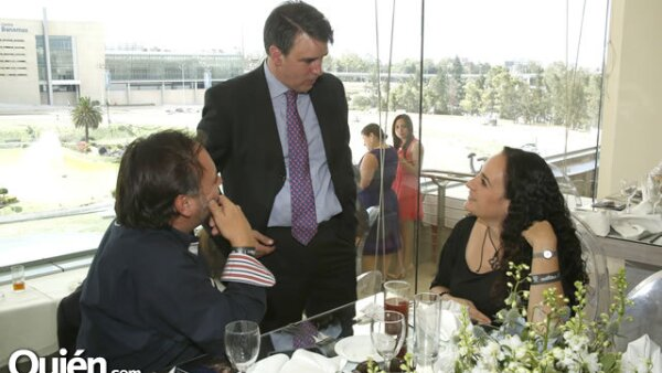 Paul Brunet, Emilio Watson y Maite Brunet