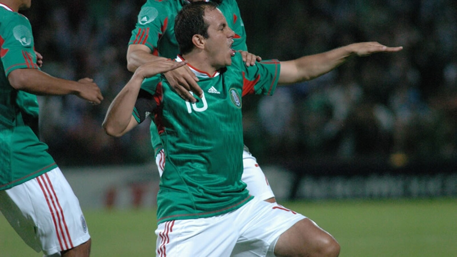Los momentos de Cuauhtémoc Blanco con la Selección Mexicana
