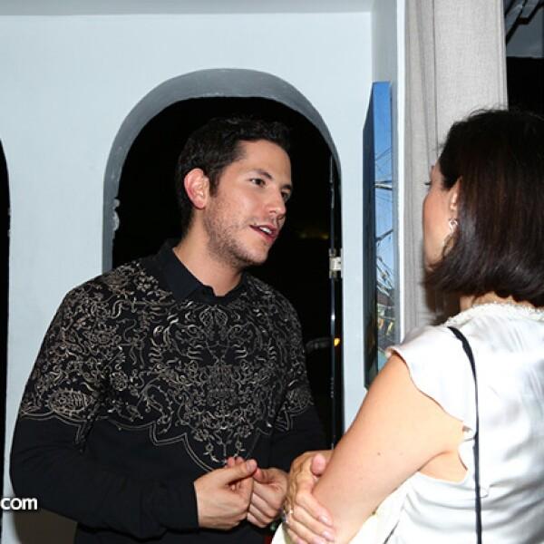 Christian Chávez y Fabiola Peña