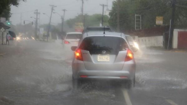 Lluvias en Jamaica