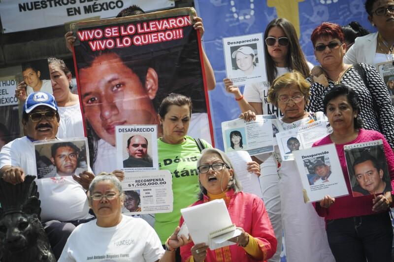 Marcha por los desaparecidos