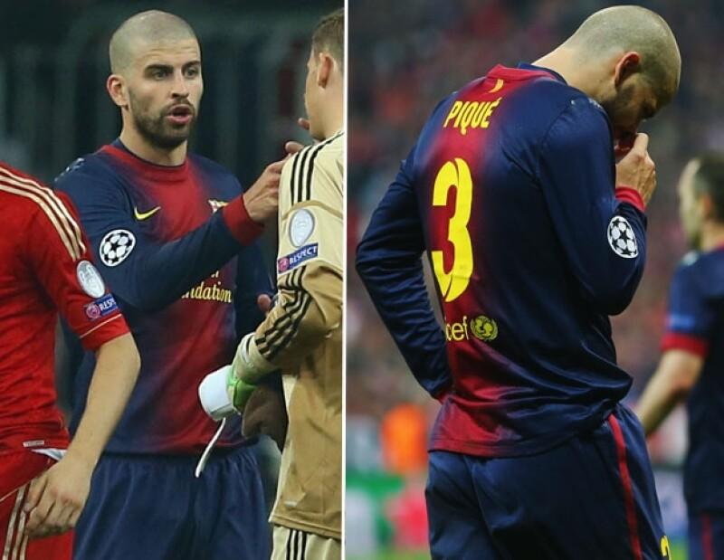 El astro de futbol y pareja de Shakira se rapó la cabeza despertando, principalmente, reacciones negativas en redes sociales.