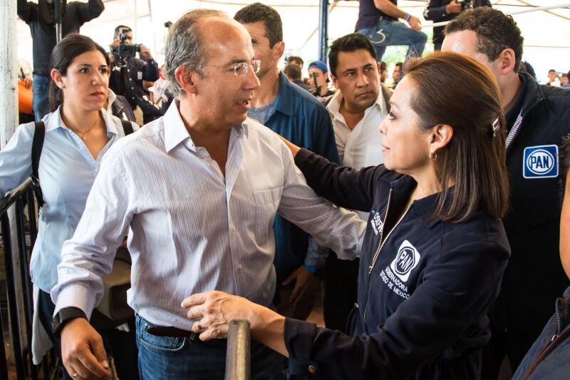 Calderón en campaña