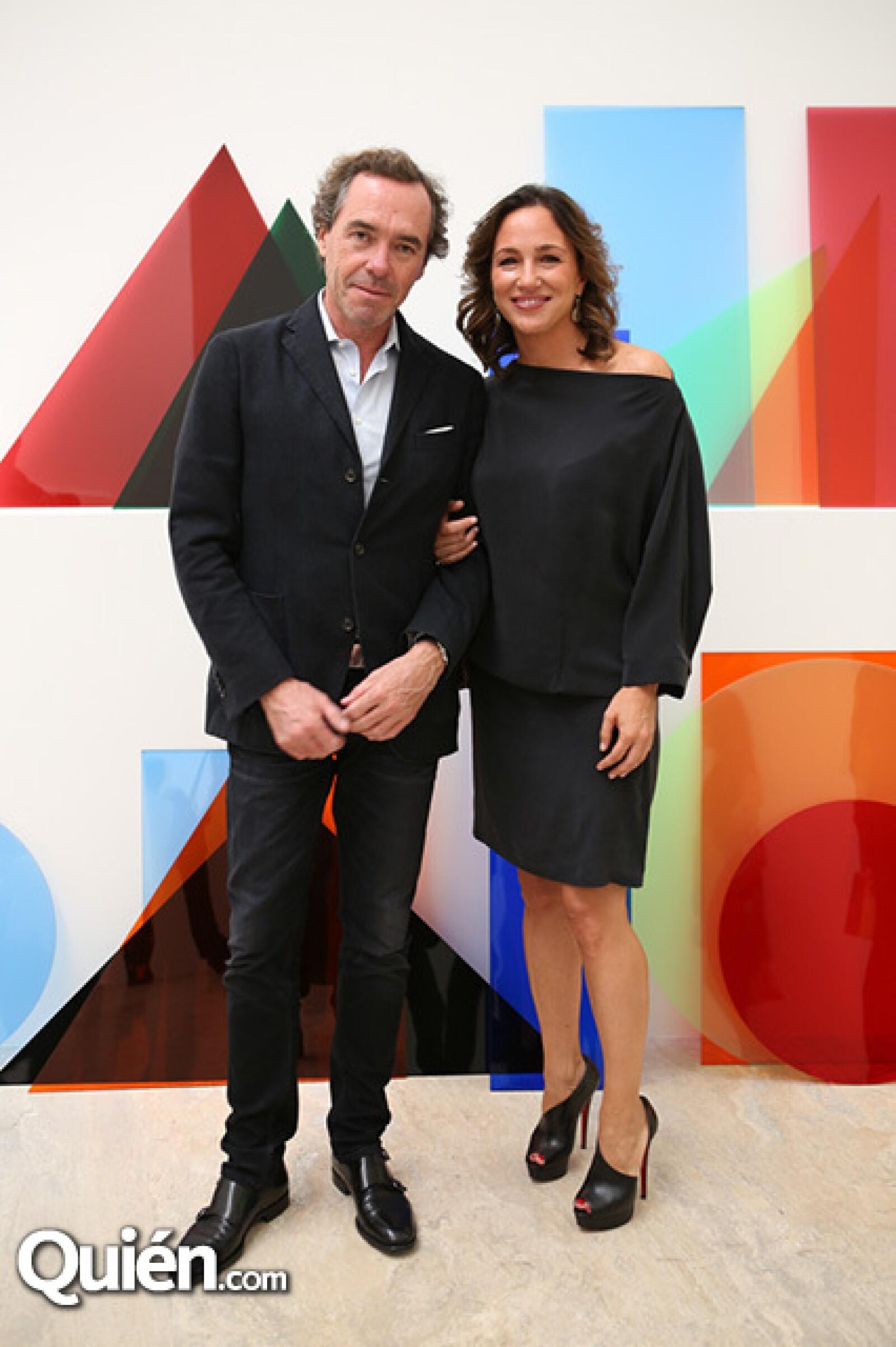 Ángel Céspedes y Mariana Baños