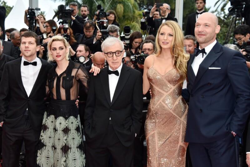 Blake protagoniza junto con Kristen Stewart la nueva cinta de Woody Allen, la cual fue la encargada de inaugurar el festival.