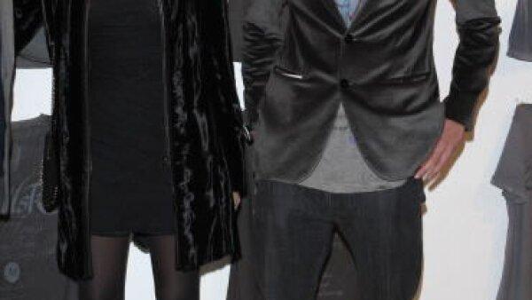 Pierre y su actual novia Beatrice Borromeo en Milán.