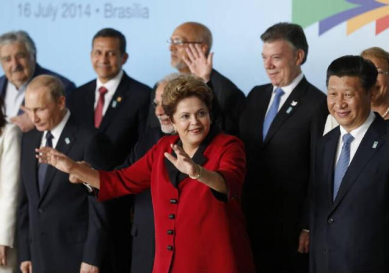 BRICS con presidentes sudamericanos