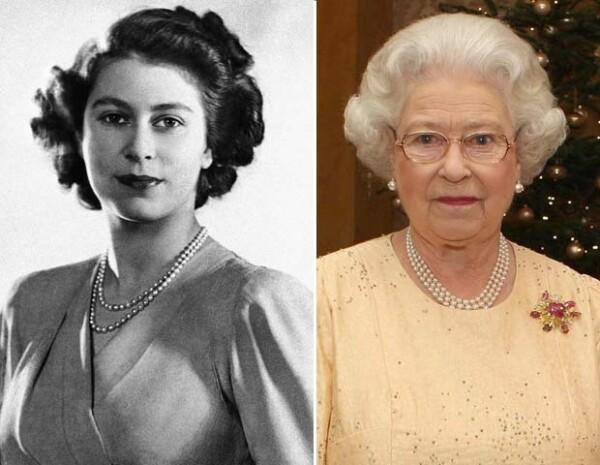 Después de 60 años de reinado, Isabel II sigue con su mismo corte de pelo.