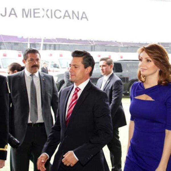 Enrique Peña y Angélica Rivera