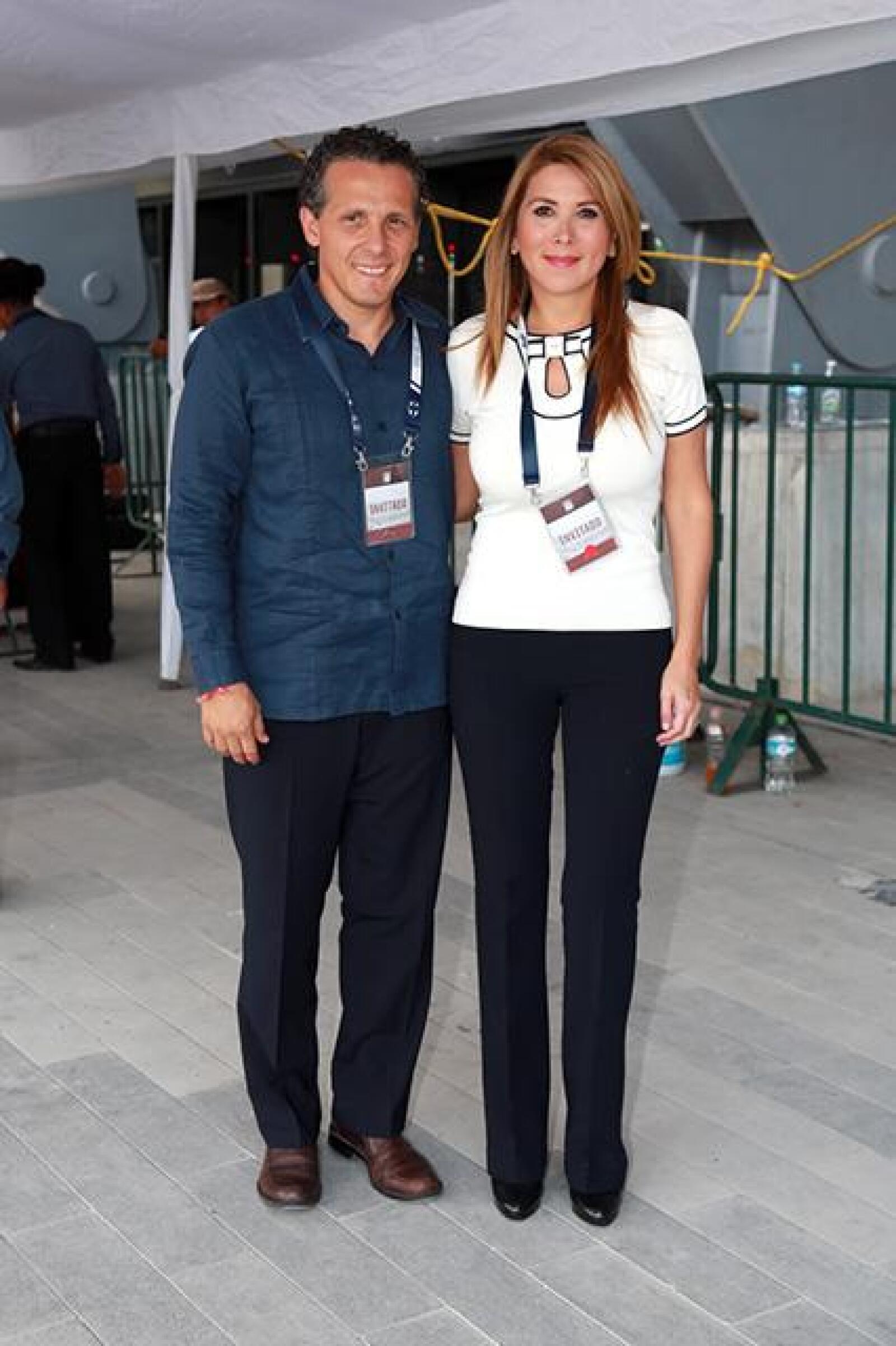 Roberto Garza y Margarita Arellanes