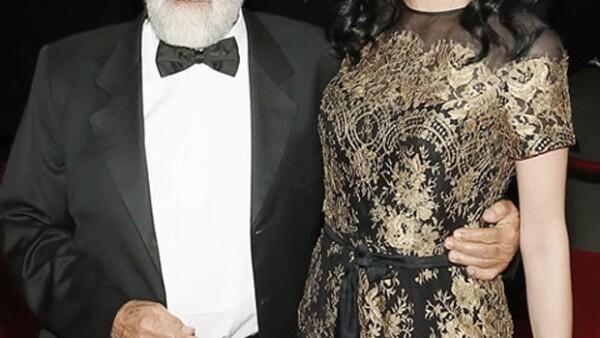 El cumpleaños de la actriz no podía pasar desapercibido, por lo que Carlos Slim le organizó una cena de gala en el que asistieron cientos de celebridades nacionales e internacionales.