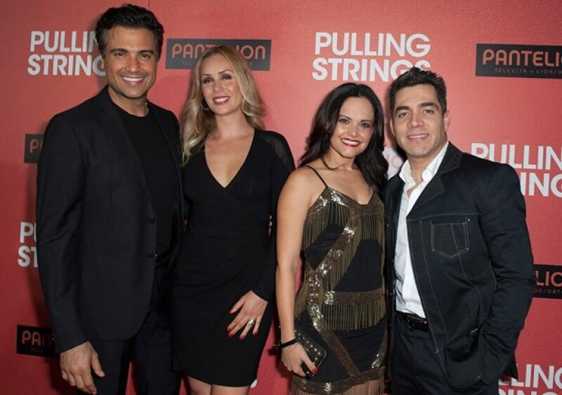 Eiza González, Eugenio Derbez con Alessandra Rosaldo, Kate del Castillo y Omar Chaparro se dieron cita en Los Ángeles para ver dicho filme.