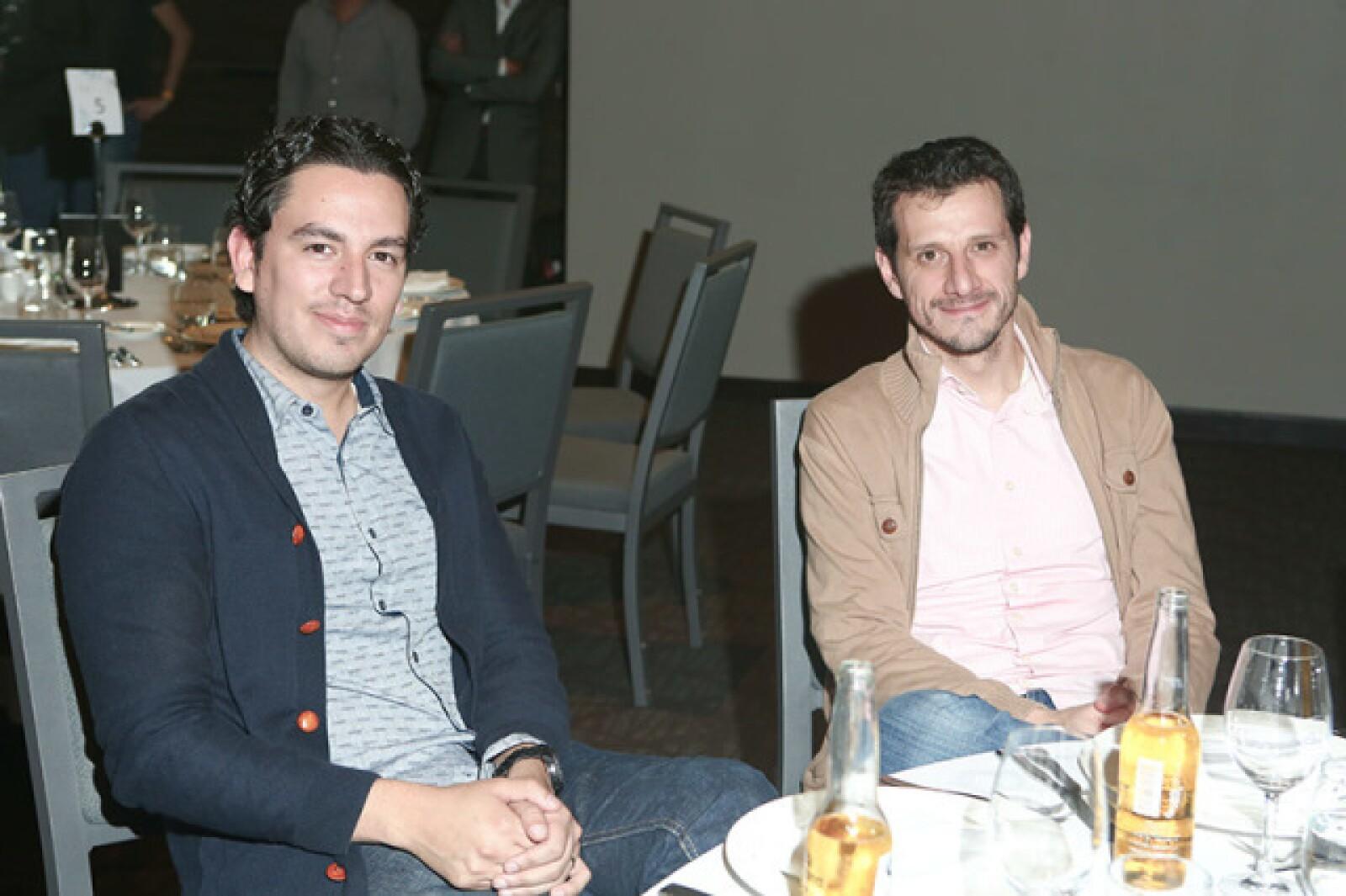 Daniel Galván y Diego Luna