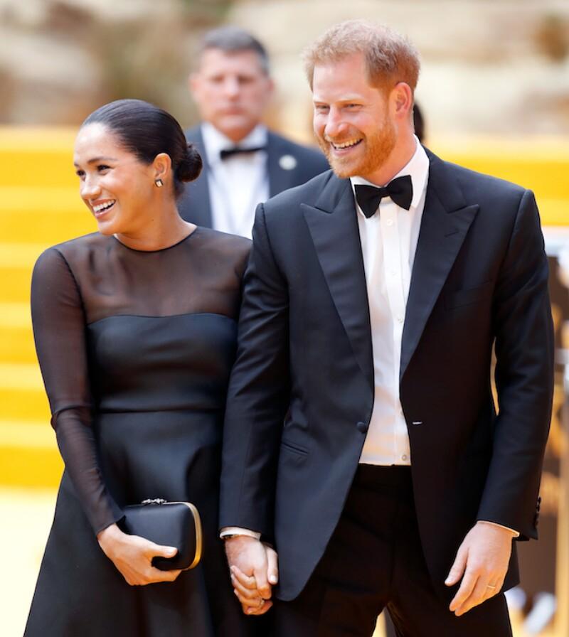 El Príncipe Harry y Meghan Markle