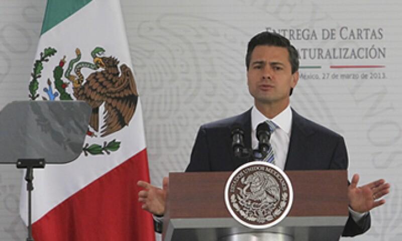 El Gobierno del presidente Peña Nieto tiene cinco ejes rectores para la transformación del país. (Foto: Notimex)