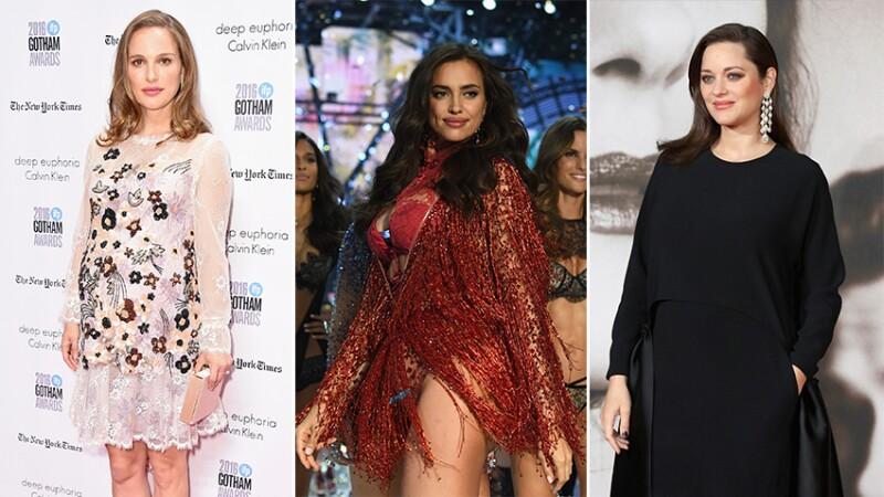Natalie Portman, Irina Shayk y Marion Cotillard