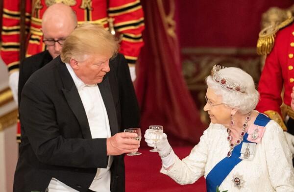 US President Donald Trump state visit to London, UK - 03 Jun 2019