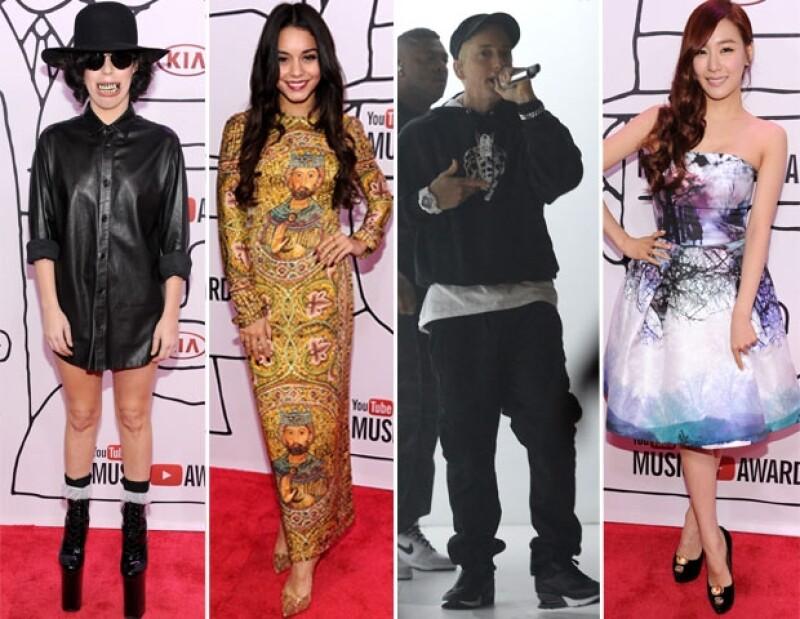 Eminem, Taylor Swift, Macklemore & Ryan Lewis y las coreanas Girls Generation fueron los favoritos de la noche.