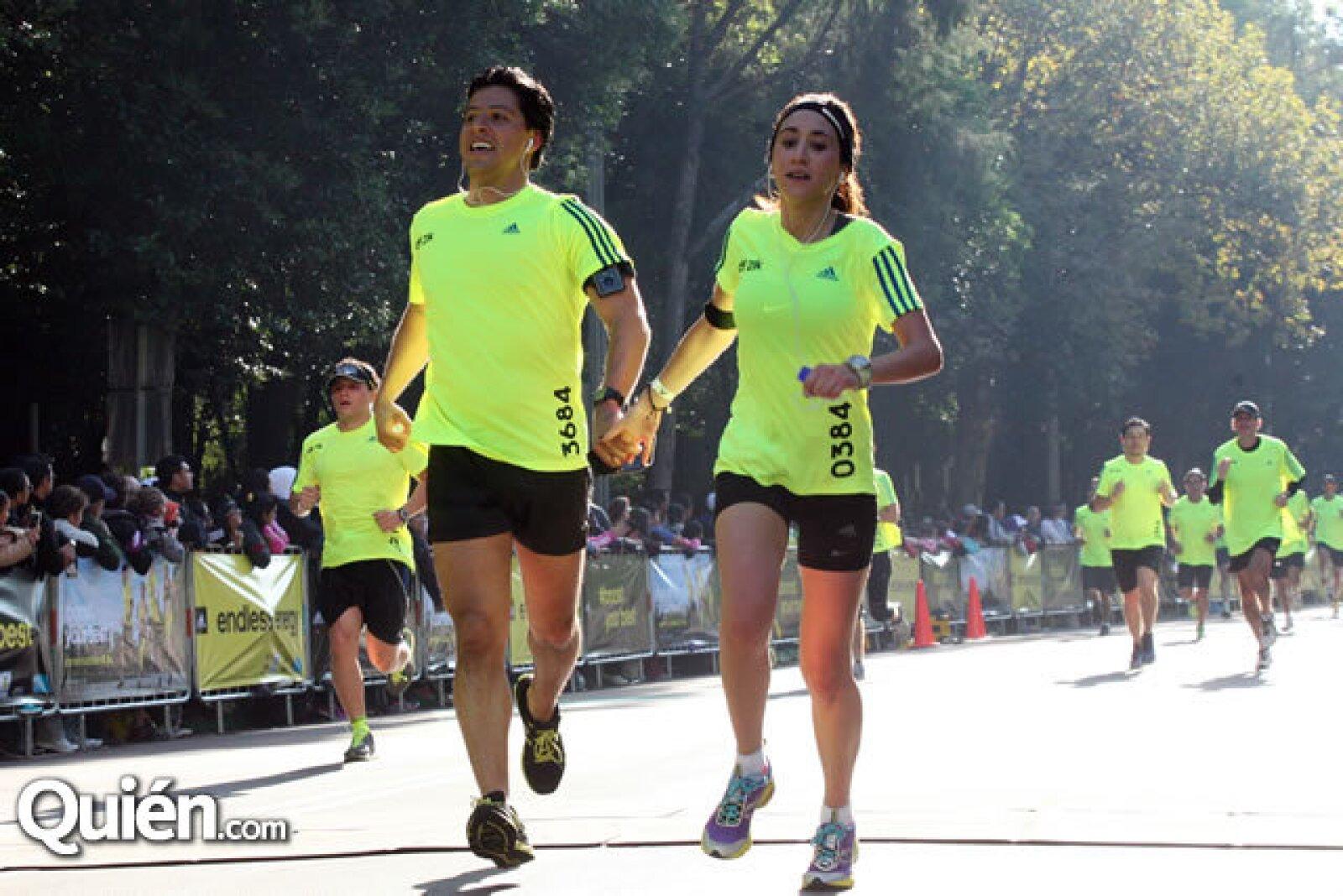 Juan Pablo Hurtado y Regina Olguín