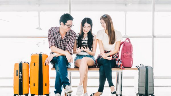 turistas estudiantes chinos china viajes