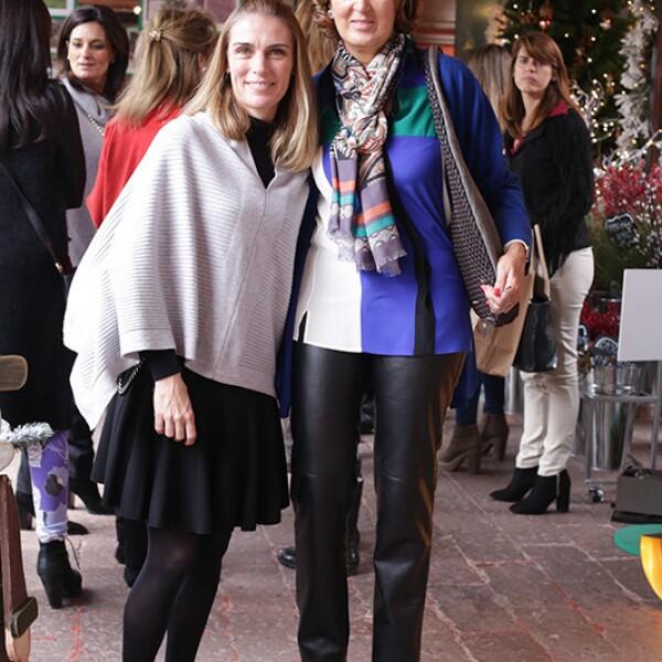 Lilia Quintana y Aurora de Quintana