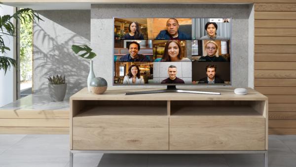 Google Meet en Chromecast
