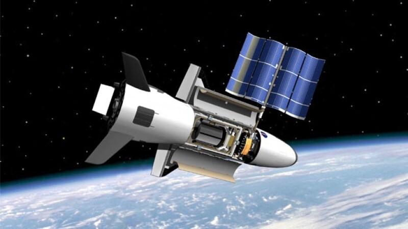 nave espacio espacial satelite nasa x-37b